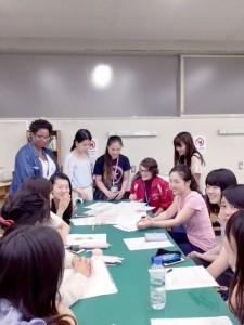 SSIP留学生との交流会0628環境