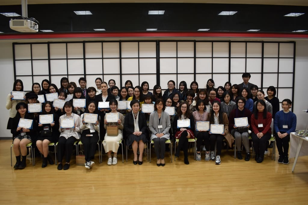 1/31(金)Intensive/Academic Program留学生修了式開催!