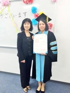 卒業式杉ちゃん永岡先生