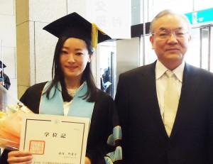 湯浅さん卒業式