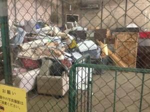 4tトラックで35台分もの粗大ごみが毎日廃棄されている