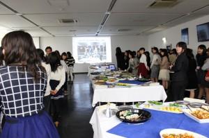 秋桜祭(学園祭)時に開催するCLAカフェの説明です