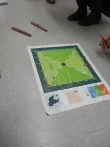 授業で遊んだユンノリというゲーム