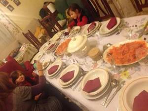 お正月の食事会