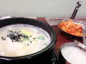 韓国の旧正月で食べる떡국