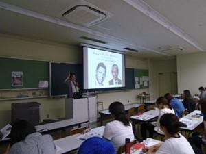津山直子氏の講演