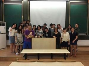 最後の授業 クラスみんなで記念撮影