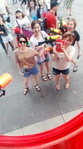 『水鉄砲祭り』