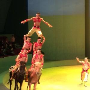 南京で観たサーカス