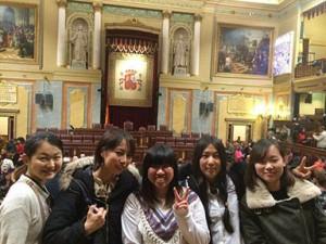 留学生の友達