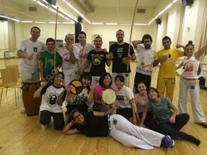 アルカラ大学が開催している活動でブラジルの格闘技カポエラを体験しました