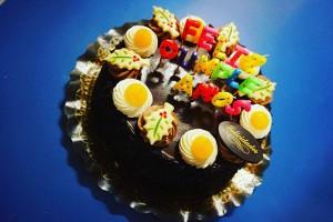 かわいい誕生日ケーキ