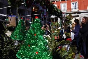 マドリッドのクリスマスマーケット