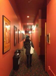 地元の小さな映画館