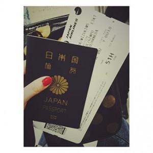 日本に一時帰国しました