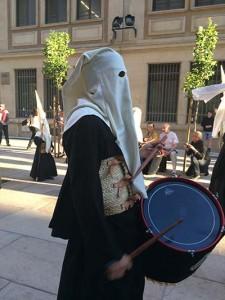 セマナサンタのパレードの様子①