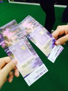 韓国の展覧会も楽しめました