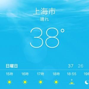 この日の体感温度は47℃でした。