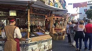 アルカラの大きなお祭り、Semana Cervantinaの様子