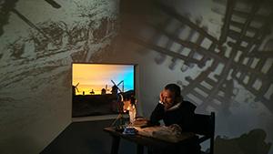 museo-de-ceraで撮ったセルバンデスの写真