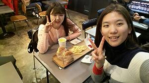韓国語で話す機会を増やすために言語交換をしています
