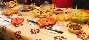 家族とのクリスマスディナー