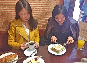 プラド美術館近くのお気に入りのカフェ