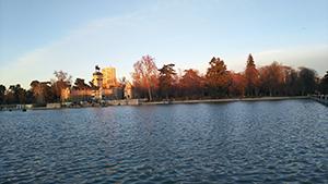 プラド美術館近くのレティーロ公園