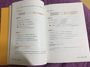 初級日本語文法の授業で使用している教科書
