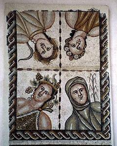 文化の授業でアルカラにある考古学博物館へ