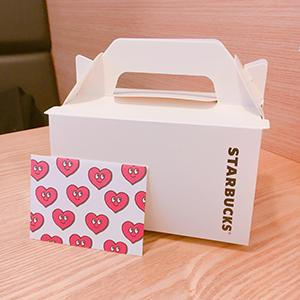 韓国人の友人がくれた誕生日ケーキと手紙