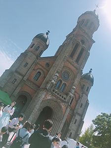 西洋式の近代建築物として最も古い聖堂