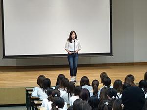 韓国語で決意表明しました