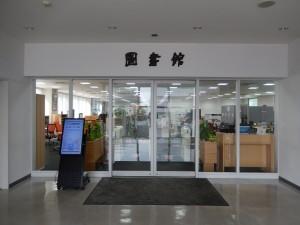 図書館の入口です