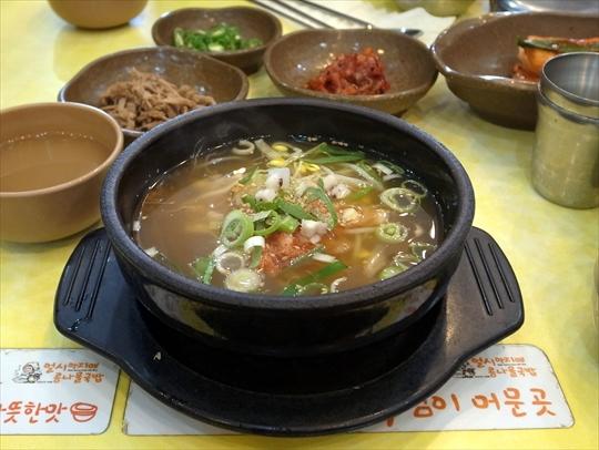 ビーンスプラウトのスープ