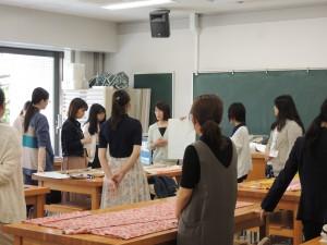 学科説明と体験授業が行われる7号館2L03教室では、主に実習型の授業が行われています