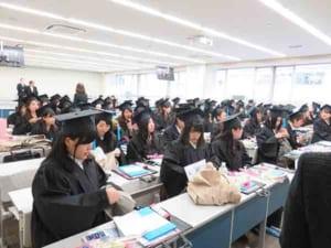 平成29年度 卒業式 昭和女子大...