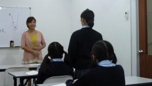 日本語学校を運営されている女性にお話しを伺う