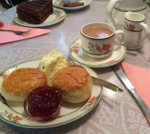 Day 9 Bourton cream tea